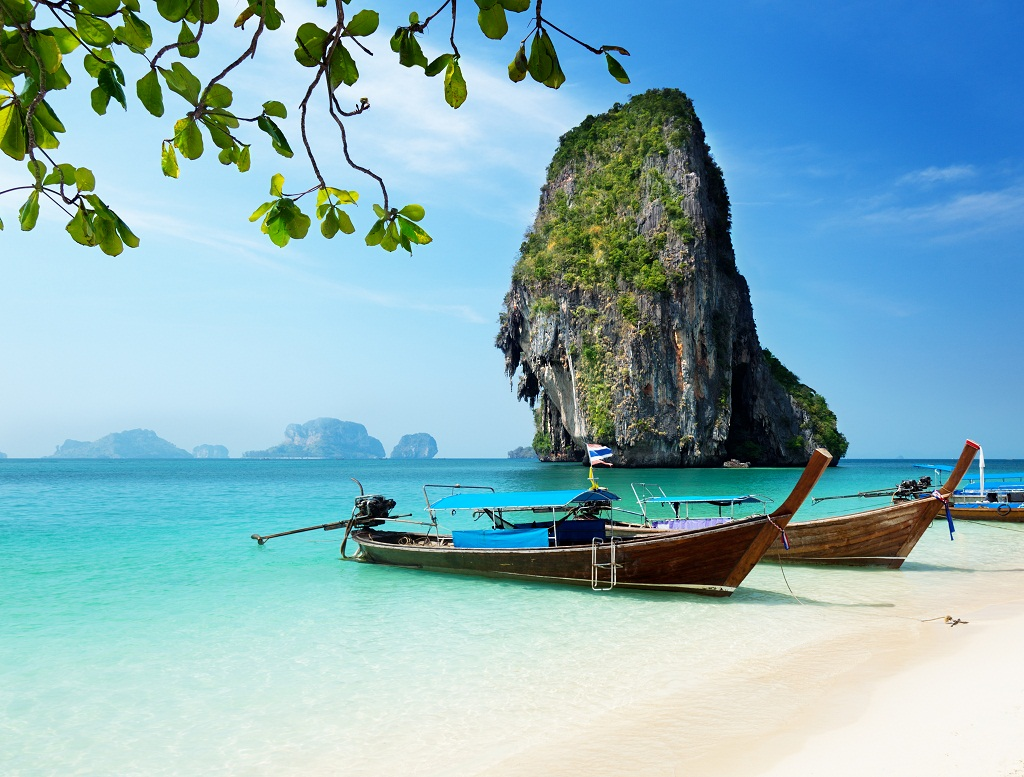 Krabi Thailand  City pictures : Railay Beach Krabi Thailand Thai Ticket Tours