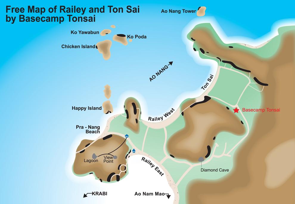 RaileyTonsaimap Thai Ticket Tours